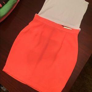 Neon Pink Kardashians mini skirt XS
